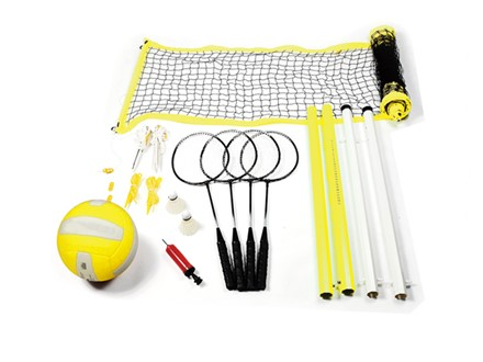 badminton & volleyball set