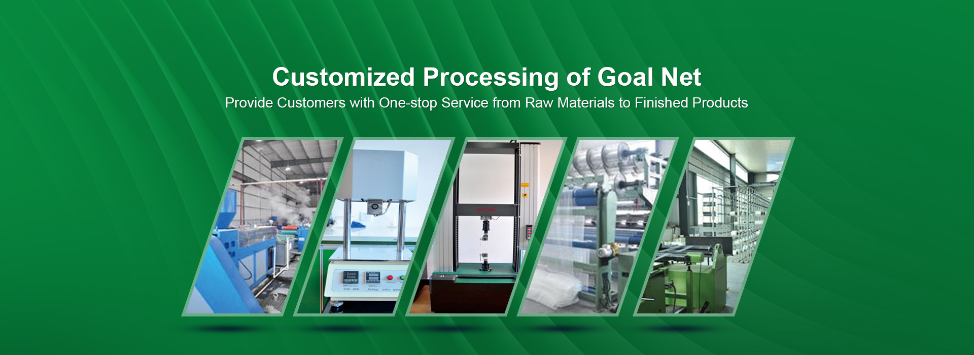 Customized processing of products